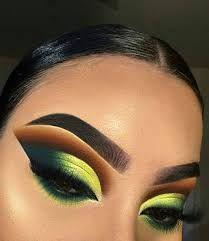 Gorgeous Makeup: Tips and Tricks With Eye Makeup and Eyeshadow – Makeup Design Ideas Makeup Eye Looks, Dramatic Eye Makeup, Colorful Eye Makeup, Cute Makeup, Gorgeous Makeup, Pretty Makeup, Cute Eyeshadow Looks, Edgy Makeup, Romantic Makeup