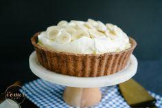 Torta de Banana e Chocolate | http://vaicomeroque.com.br/bananaechocolate/