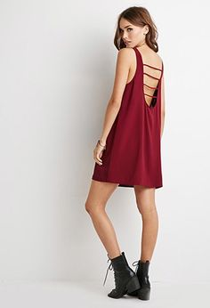 Mini Vestido Espalda Abierta