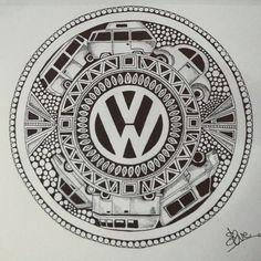Finished!! Volkswagen Doodle. #Doodle #doodles #doodleart #doodling #dgfeature #doodleuniverse #Art #artist #artoninstagram #art_we_inspire #draw #drawing #picture #illustration #design #pen #creative #patterns #pencil #sketch #veedub #vw #Volkswagen #campervan #beetle #golf