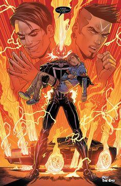 """All-New Ghost Rider #12 - """"Great Power II"""" (2015)  written by Felipe Smith art by Felipe Smith, Kris Anka, & Val Staples"""