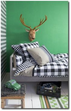 Green ideas child room | Bring the colour of nature to kid's bedrooms with extraordinary furniture design! Follow this trend with our inspirations: CIRCU.NET