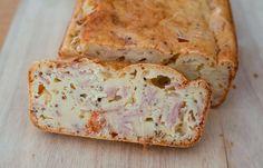 Cake au fromage à raclette et au jambon au Thermomix