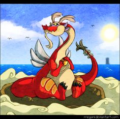 Dragon Roost Island by ~Meganii on deviantART