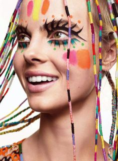#COLORFUL #FACE