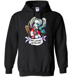 Harley Quinn Gildan Heavy Blend Hoodie