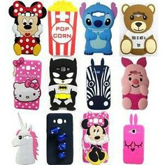 New 3D Cute Cartoon Soft Silicone Back Cover Case For Samsung Galaxy J1 J2 J5 J7