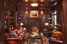 Image detail for -Ideas for a Colorado Home Library | Distinctive Design Interiors