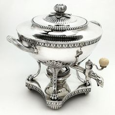 Vintage Silver, Antique Silver, Thomas Harding, Georgian, Tea Pots, Jewels, Sterling Silver, Antiques, Kettles