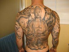 Buddha back