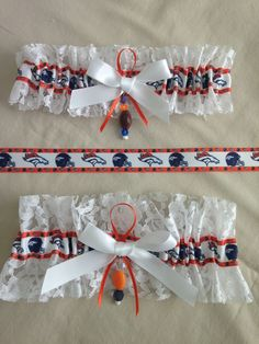 "Denver ""Broncos"" Garters by SportzNutty on Etsy"