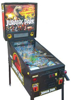 Jurassic Park Pinball Machine (1993)