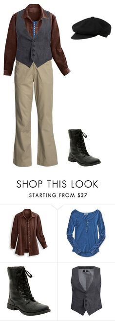 """""""Badger"""" by mouserz-wuz-here ❤ liked on Polyvore featuring Aéropostale, Hot Topic and Antony Morato"""