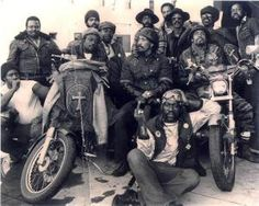 """THE 13 REBELS MOTORCYCLE CLUB   1953′s """"THE WILD ONE"""" INSPIRATION   The Selvedge Yard"""