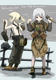 The Art of – Fascist Anime Anime Girls, Anime Art Girl, Anime Military, Military Girl, Manga Anime, Manga Art, Female Characters, Anime Characters, Guerra Anime