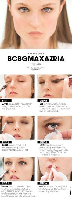 BCBG Runway Makeup | Get the Look
