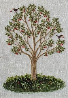 Wonderful Ribbon Embroidery Flowers by Hand Ideas. Enchanting Ribbon Embroidery Flowers by Hand Ideas. Crewel Embroidery Kits, Silk Ribbon Embroidery, Hand Embroidery Patterns, Vintage Embroidery, Cross Stitch Embroidery, Machine Embroidery, Embroidery Supplies, Embroidery Needles, Diy Broderie