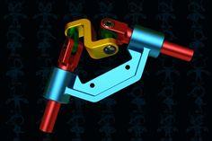 90 Degrees Uniform Motion Transmitter | 3D CAD Model Library | GrabCAD