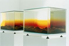 Mariele Neudecker Looking West (Sunset) 1996