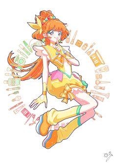 Pretty Cure, Anime Angel Girl, Manga Hair, Mermaid Melody, Mermaid Drawings, Glitter Force, Anime Music, Anime Art Fantasy, Haikyuu Anime
