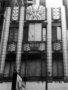 The Triangle Restaurant (1870-1920's, Chicago, IL). An Art-Deco remodel of and existing 1870's building by Joseph G. Ludgin. The ornate terracotta that refaced the building was created by Northwestern Terra Cotta Company of Chicago. The building was demolished in 1986-87. City Museum owns several pieces of this unique terra cotta, currently on display outside the entrance to the Architectural Museum on the 3rd floor.