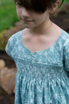 Smocked Oliver and S Ice Cream Dress