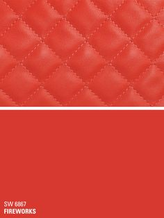Sherwin-Williams red paint color – Fireworks (SW 6867)