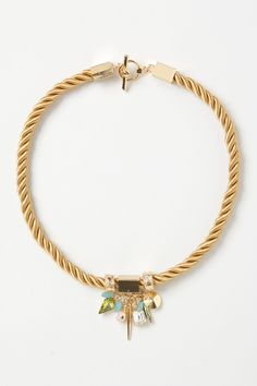 Roped Geo Necklace - Anthropologie.com