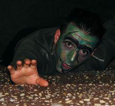 Frankenstein Makeup by Iulia Bajenaru: Halloween Series (6) Photo by Iulian Tartan