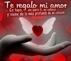 Imagen de amor de un corazón con alitas - http://www.imagenesdeamor.pro/2013/08/imagen-de-amor-de-un-corazon-con-alitas.html