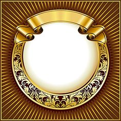 Find Gold Vintage Circle Frame Ribbon stock images in HD and millions of other royalty-free stock photos, illustrations and vectors in the Shutterstock collection. Certificate Design Template, Trophy Design, Frame Background, Striped Background, Photo Gold, Circle Pattern, Circle Borders, Gold Ribbons, Gold Lace