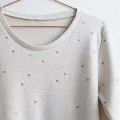 Coudre un sweat-shirt facilement: on se lance! - Marie Claire Idées