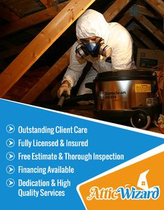 We at Attic Wizard Helps you to Keep a Healthier & Cleaner Home With Our Professional Attic Cleaning, Attic Insulation, Insulation Replacement, Crawl Space cleaning Services. Call Us (877) 373-5212. to Schedule Free Estimate In Agoura Hills, CA.