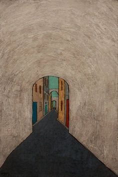 Muhsin Kut (b. 1938) Tunnel