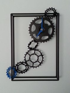 Bicycle gears clock