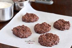 No Bake Chocolate Cookies Recipe (paleo, gluten free, grain free)
