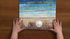 Quilting Strippy Landscapes Run time: 12:15 min  Learn how to make landscapes using small strips of fabric with this strip quilting idea from National Quilters Circle...June Dudley makes a water landscape with small strips of fabric. She teaches you how to gather fabrics with a variety of strips to get what you want,