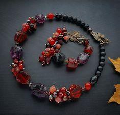 Boho Jewelry, Jewelry Art, Beaded Jewelry, Handmade Jewelry, Beaded Necklace, Beaded Bracelets, Unique Jewelry, Russian Jewelry, Fashion Necklace