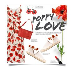Poppy Love by leslee-dawn on Polyvore featuring polyvore fashion style Raye Latico Smashbox clothing