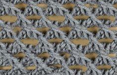 My Tunisian Crochet: Lace Stitches  - TUTORIALS