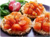 9 Retete de bruschette Lassi, Bruschetta, Mozzarella, Cantaloupe, Deserts, Appetizers, Cooking Recipes, Snacks, Dinner