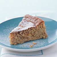 Cardamom Apple Almond Cake by Gourmet