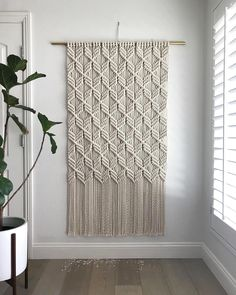 """It's just Macrame. I mean, not """"just""""macrame, but, just Macrame. 🙃"""