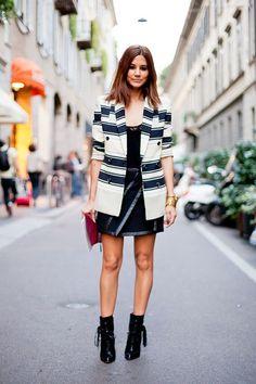 Street fashion на Неделе моды в Милане | Kuruza