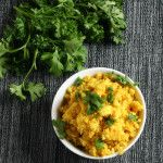One of the hardest things for anyone new to Paleo to give up is a side of rice with their curry. Have no fear this curry cauliflower rice will do just the trick! Fast to make and seasoned with curry, turmeric and ground ginger, it is the perfect thing for soaking up that extra coconut …
