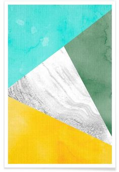 Print 08 als Premium Poster von Lila x Lola | JUNIQE