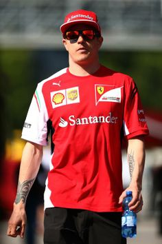 Kimi Raikkönen @ 2014 Perelli Formula One Spanish Grand Prix