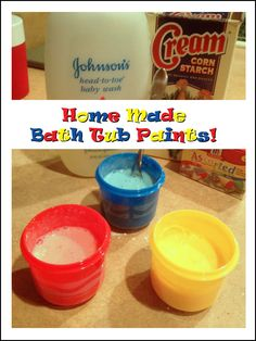 Beyond the Dryer Vent: Home Made Bath Tub Paints