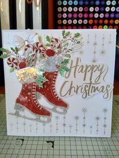 Christmas Paper Crafts, Homemade Christmas Cards, Christmas Projects, Handmade Christmas, Christmas Greeting Cards, Greeting Cards Handmade, Holiday Cards, Chloes Creative Cards, Stamps By Chloe