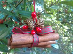 Handmade Cinnamon Ornament - great for gifts!